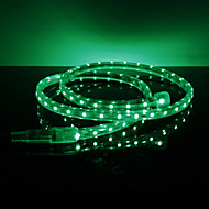 Vanntette 3.5W / M 3528 SMD Green Light LED Strip Lampe (220V, Lengde valgbar)
