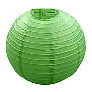 Green Light Carta cinese Lampada Lanterna (12-pack)