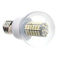 daiwl E27 8w 138x3528smd 620lm 6000-6500k luonnon valkoinen valo johti pallo lamppu (220v)
