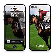 "Da koodi ™ Skin iPhone 4/4S: ""Racing Hevoset"" (Eläimet Series)"
