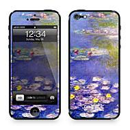 """Da Kode ™ Skin for iPhone 4/4S: """"Waterlilies"""" av Claude Monet (Mesterverk Series)"""