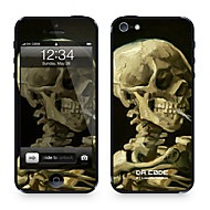 """Da Kode ™ Skin for iPhone 4/4S: «Head of a Skeleton"""" av Vincent van Gogh (Mesterverk Series)"""