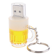8gb boccale di birra digitato usb flash drive