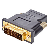 DVI 24 + 1 til HDMI M / F Adapter til HDMI v1.3 / v1.4
