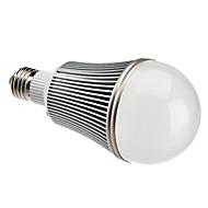 E26/E27 12 W 12 High Power LED 1080 LM Natural White A Globe Bulbs AC 85-265 V