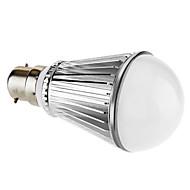 B22 7 W 7 High Power LED 450 LM Natural White A Dimmable Globe Bulbs AC 220-240 V