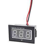 """V40D Dual-fil 1.2 """"LED 3-voltmètre CC numérique Module w / Protection Tension inverse - Noir (3 ~ 30V)"""