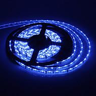 5M 15W 300x335SMD Blue Light LED Strip Lamp (DC 12V)