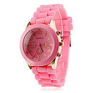 Women's and Children's Silicone Analog Quartz Strap Watch Wrist Watch (Assorted Colors) Cool Watches Unique Watches Fashion Watch