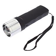 LED Flashlights / Handheld Flashlights LED 3 Mode 240 Lumens Adjustable Focus / Rechargeable / Waterproof Cree XR-E Q5
