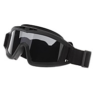 Outdoor Protective Desert Goggle with Three Lens(3 Colors)
