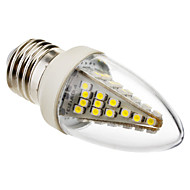 Eastpower E26/E27 3 W 48 SMD 5050 230 LM Cool White C Decorative Candle Bulbs AC 220-240 V