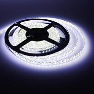 Vanntett 5M 30W 600x3528SMD White Light LED Strip lampe (DC 12V)