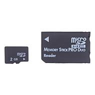 2gb micro sd / tf Tarjeta de memoria SDHC y SD micro SDHC con adaptador ms