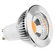 GU10 5W 400-450LM 3000-3500K Warm White Light COB LED Spot Pære (85-265V)