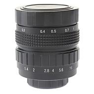 "50mm F1.4 CCTV Lens on Micro 2/3"" C (Black)"