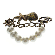 Starfish Boot Hook Anker Pearl Retro armband