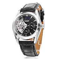 Men's PU Analog Mechanical Wrist Watch (Assorted Colors)