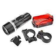 LED Flashlights / Handheld Flashlights LED 1 Mode Lumens Tactical AAA Cycling - Others , Black Plastic