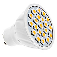 GU10 5W 20 SMD 5050 320 LM Warm White MR16 LED Spotlight AC 220-240 V
