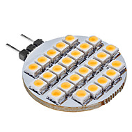 G4 1W 25 80 LM Warm White LED Bi-pin Lights DC 12 V