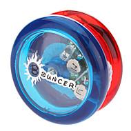 Bouncer POM Bearing Yoyo Toy med LED (gul, grøn, rød-blå)