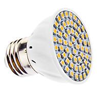 daiwl E27 3W 60x3528smd 210-240lm 3000-3500k lämmin valkoinen valo led spot lamppu (ac 110-130 / ac 220-240 v)
