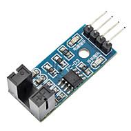 LM393 comparator snelheidssensor module voor (voor Arduino)-blauw (werkt met officiële (voor Arduino) boards)
