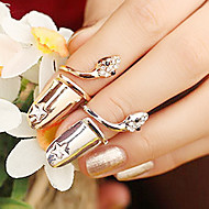 Serpiente Estrella del dedo anular de uñas (color al azar)