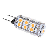 G4 1 W 24 SMD 3528 80 LM Warm White T Corn Bulbs AC 12 V