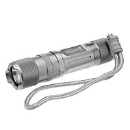 UniqueFire S10 6-läge Cree XP-E R5 LED Flashlight (350LM, 1xAA/1x14500, Silver)
