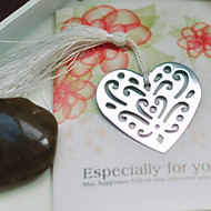 Holle-out Hart Metal Bookmark