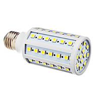 12w 1200lm e26 / e27 led corn világítás t 60 smd 5050 lm hűvös fehér ac 220-240 v