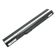 5200mAh erstatning laptop-batteri for Asus K52 X8C x67 X5I X42 P62 P82 PRO5I PR067 PR08C P42 - Svart