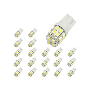 10 x T10 20 SMD 1210 LED del coche blanco Luces de bulbo 194 168 2825 W5W