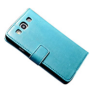 For Samsung Galaxy Case Wallet / Card Holder / with Stand / Flip / Magnetic Case Full Body Case Solid Color PU Leather SamsungS7 plus /