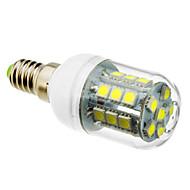 5W E14 LED-kornpærer T 27 SMD 5050 lm Kjølig hvit AC 220-240 V