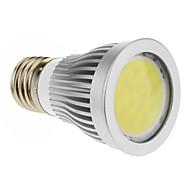 E26 / E27 7 w 1 cob 600-630 lmcool / varm hvid spotlights ac 85-265 v