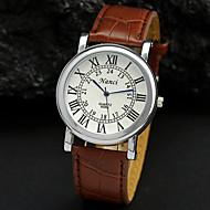 quadrante di orologio vestito orologio numeri romani degli uomini