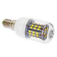 daiwl E14 6W 46x2835smd 520-550lm 5500-6500k אור לבן מגניב הוביל הנורה תירס עם כיסוי (220-240V)