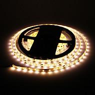 ZDM ™ wodoodporna 5m 24W 60x3528smd 900-1200lm 2800-3200k ciepłe światło białe taśmy LED światła (DC12V)