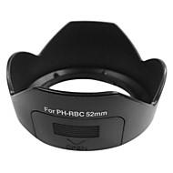 PH-RBC Lens Hood ombre pour Pentax DA 18-55mm f/3.5-5.6 AL WR 52mm Fil de filtre (Noir)