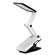 22-LED White Light LED Solar Light Rechargeable Fold Eyeshield Reading Table Desk Lamp (110-220V)