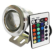 10 W 1 450 LM RGB Remote-Controlled Spot Lights DC 12 V