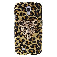 Leopard Design Moda modello rigido con strass per Samsung Galaxy S4 i9500