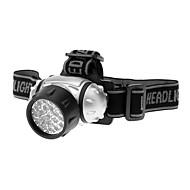 Pyöräilyvalot Otsalamput LED Vedenkestävä 200 Lumenia Patteri Musta Telttailu/Retkely/Luolailu / Pyöräily-Muut