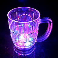 LED Flash Big Beer Glass