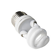 H+LUX E27 7W 350LM 2700K CRI>80 Warm White Light CFL Spirale Bulb (220-240V)