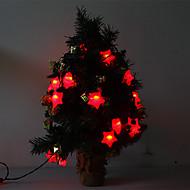5M 15W 20-LED Red Light Star Shaped LED Strip Light (220V)