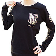 """Attack On Titan """"Wings of Freedom"""" Cosplay Gilding T-shirt"""